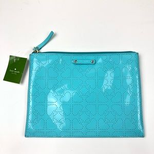 Kate Spade Metro Spade Large Pouch Cosmetic Bag